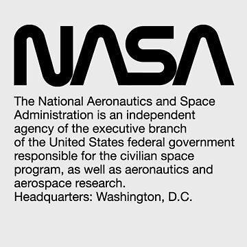 NASA: National Aeronautics and Space Administration by MelanixStyles