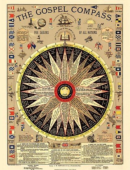 The Gospel Compass by Peter Millward