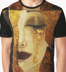 Golden Tears...Jugendstil art by Klimt Graphic T-Shirt