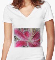 Stargazer Central Women's Fitted V-Neck T-Shirt