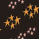 Whimsical Stars by Andi Sigsbey