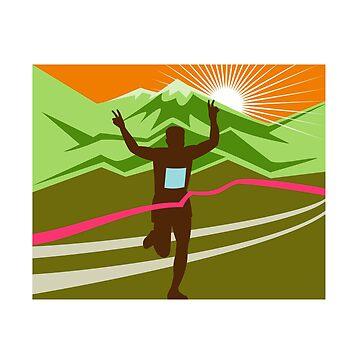 Marathon Race Finisher by patrimonio