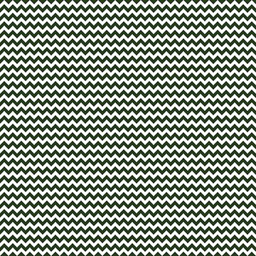 Small Dark Forest Green and White Chevron Stripes by podartist