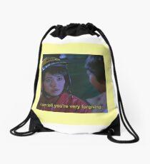 Forgive Drawstring Bag