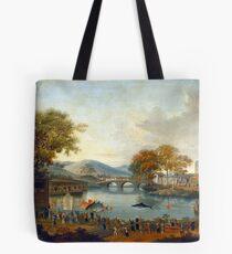 Procession by a Lake Tote Bag