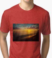 Coastal Colors Sunset Tri-blend T-Shirt
