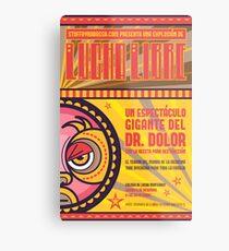 Dr. Dolor - Lucha Libre Metal Print