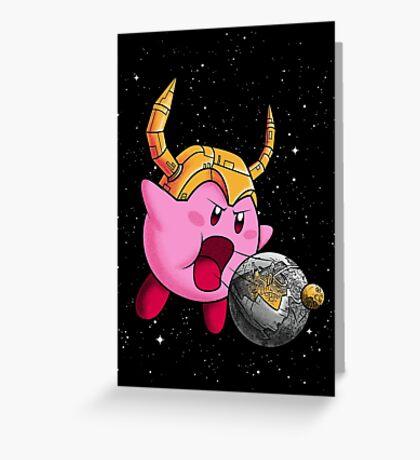 Kirbicron Greeting Card