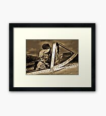 Wingmen Of Yesteryear Framed Print