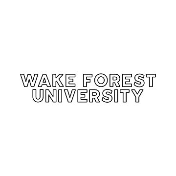 Wake Forest University - Style 13 by caroowens