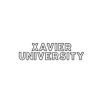 Xavier University - Style 13 by caroowens