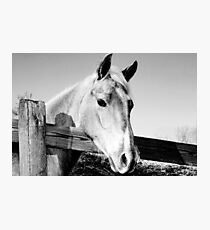 Geronimo in Black and White Photographic Print