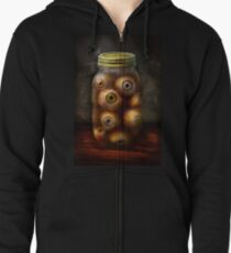 Fantasy - Creepy - I've always had eyes for you Zipped Hoodie