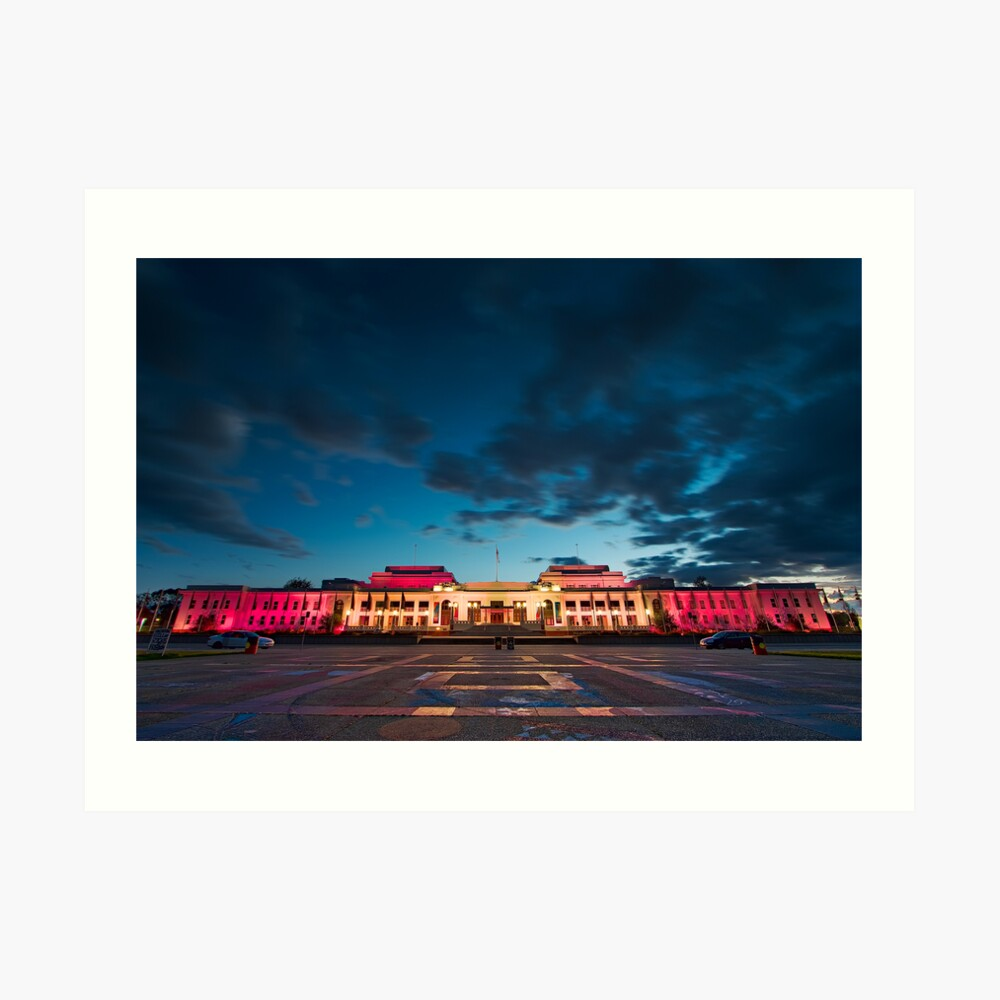 Old Parliament House in Canberra - The Capital Of Australia Art Print