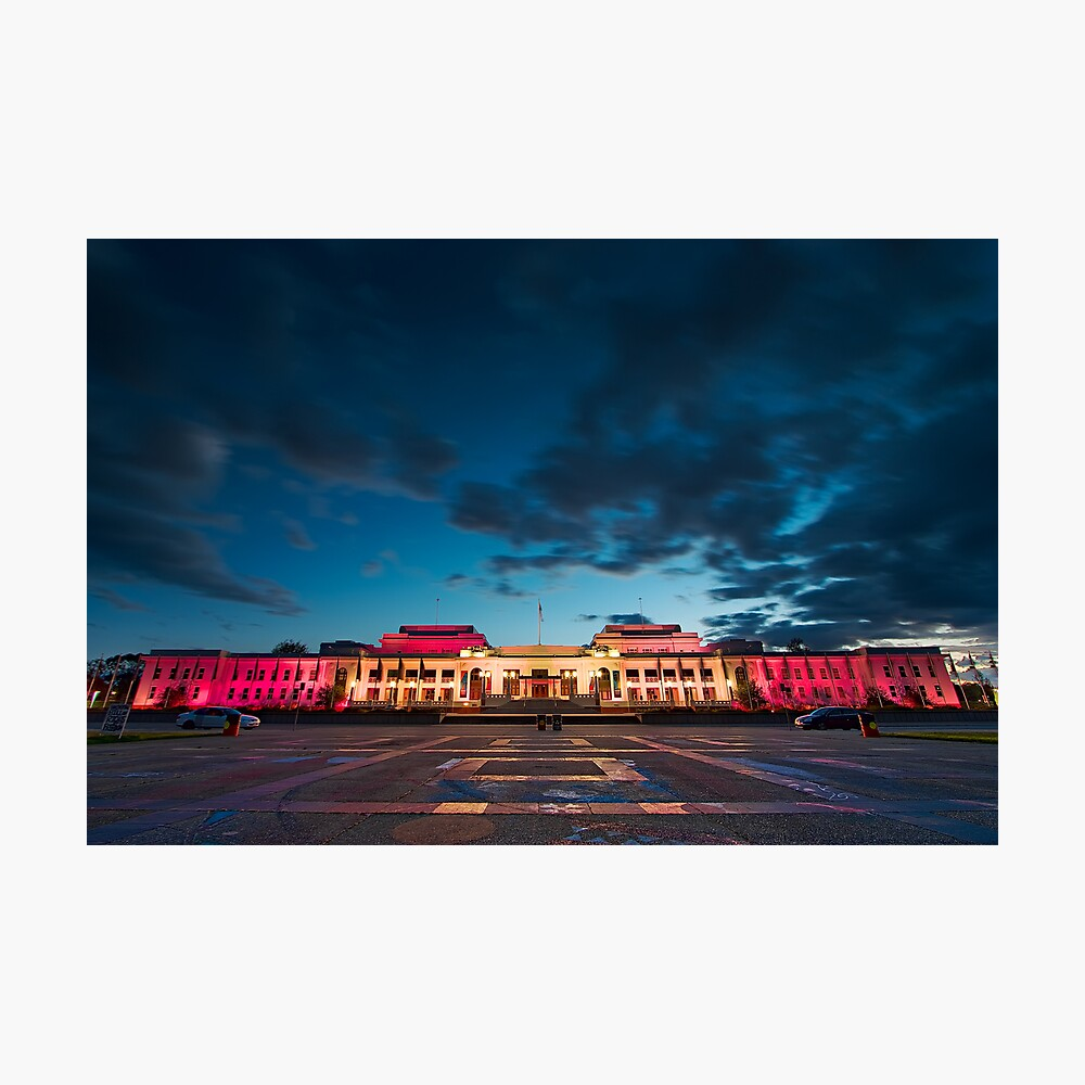 Old Parliament House in Canberra - The Capital Of Australia Photographic Print