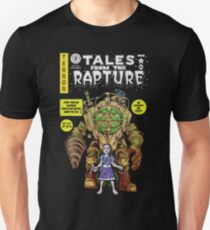 Camiseta ajustada Tales From The Rapture Parodia cómica de la vendimia