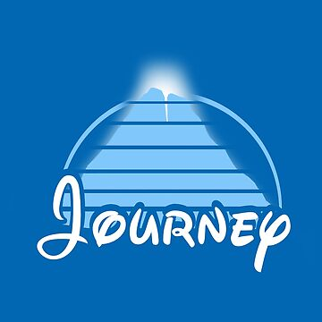 Journey to the Mountain (Light Blue Graphic) by LevelB