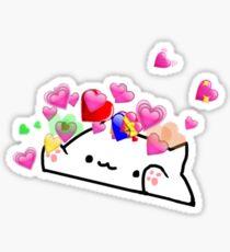 Pegatina Amoroso gato de bongo