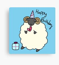 Happy Birthday Ram  Canvas Print