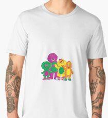 barney the dinosaur and friends Men's Premium T-Shirt
