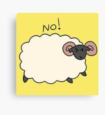No Ram Canvas Print