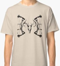 DeerSkull & Compound Bow Classic T-Shirt