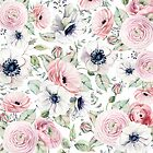 FLOWERS WATERCOLOR 29 by magicdreams