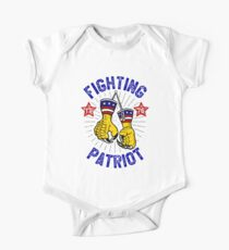 Political Sparring Eagle Mitts One Piece - Short Sleeve