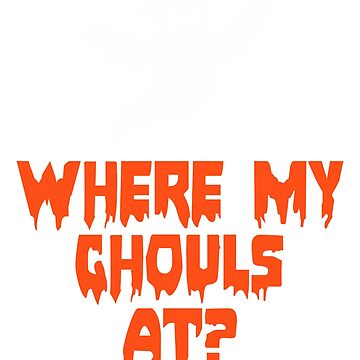 Ghouls Halloween Tshirt by cecatto