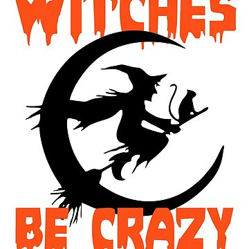 Witches Halloween Tshirt by cecatto