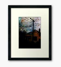 Home Invasion Framed Print