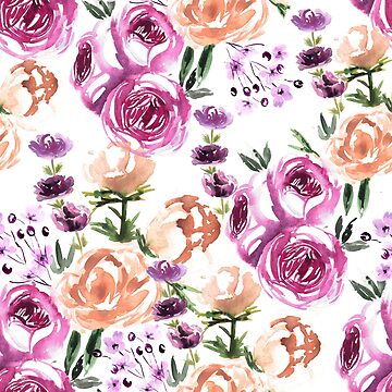 Fall floral pattern by anisg