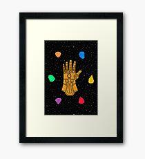 Infinity Rocks Framed Print