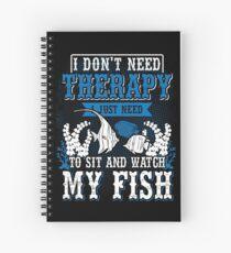 Aquarium therapy Spiral Notebook