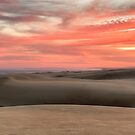 Stockton Sand Dunes - Fire in the Sky by Michael Howard