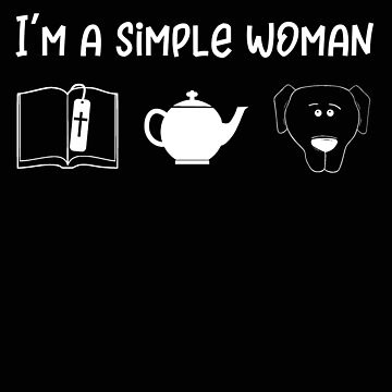 Religous Simple Woman Bible Dog by stacyanne324