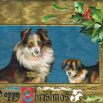 Victorian Christmas Dogs by forgottenbeauty