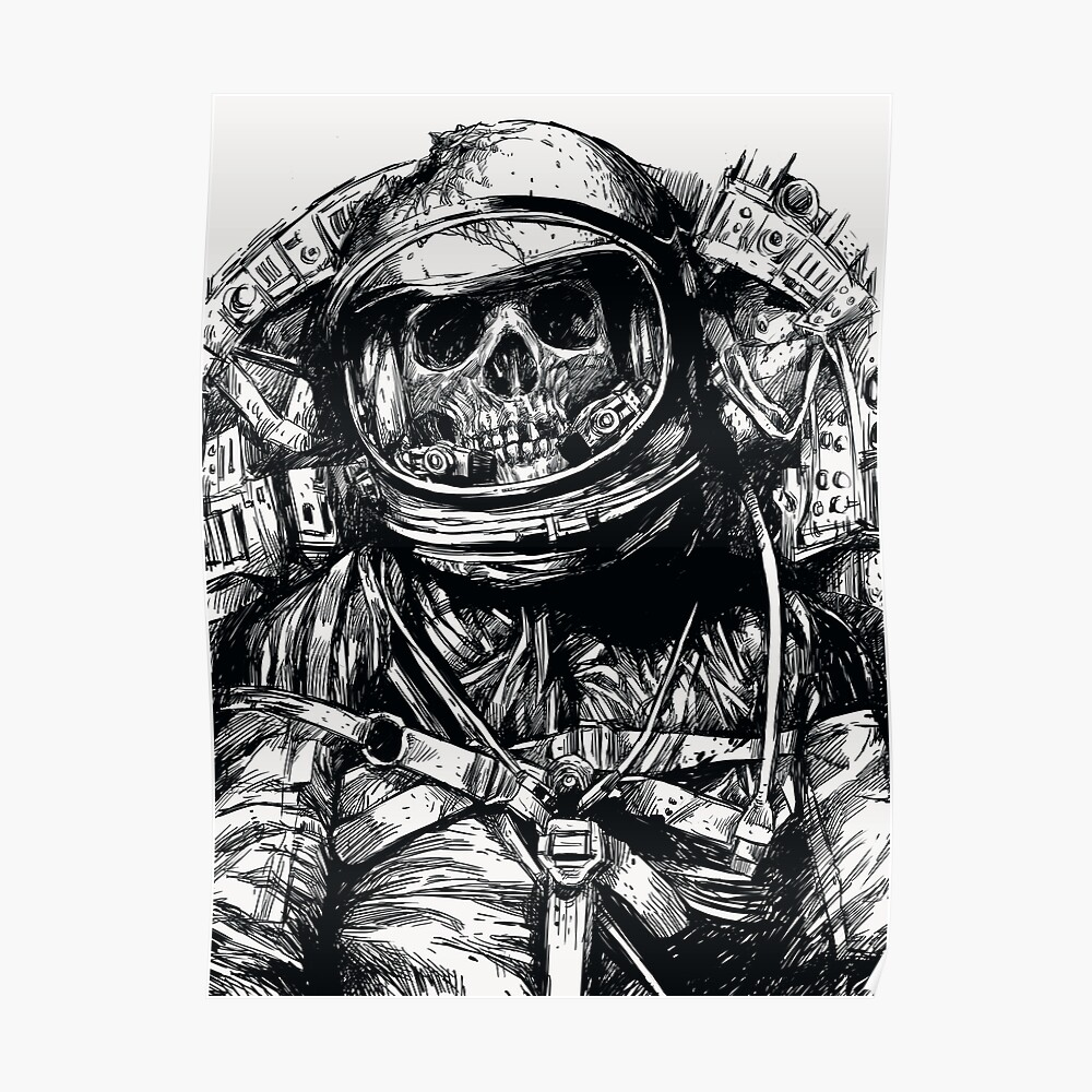 Toter Astronaut Poster