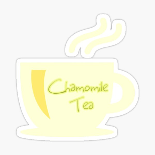 Chamomile Tea Sticker