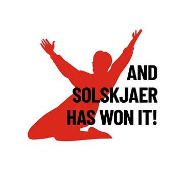 And Solskjaer Has Won It! by RedAngelDesigns