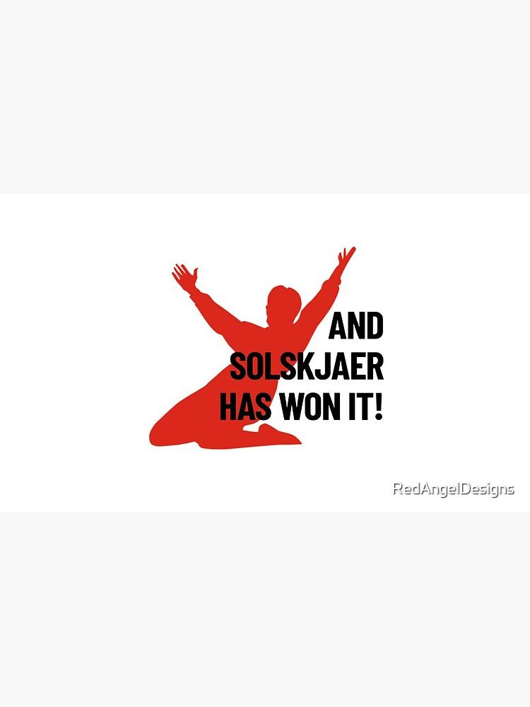 Und Solskjaer hat es gewonnen! von RedAngelDesigns