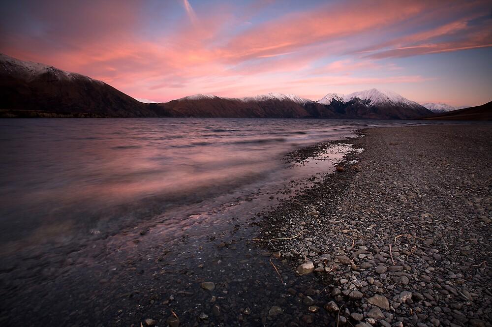 Lake Coleridge Sunrise, NZ by Greg  Sorenson