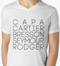 Magnum Agency Founders  Men's V-Neck T-Shirt