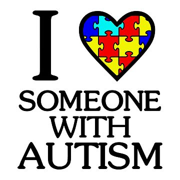 i love someone with autism by dakooters