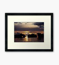 Volcanic Skies Framed Print
