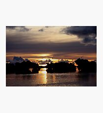 Volcanic Skies Photographic Print