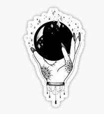 Pegatina brillante Bola de cristal