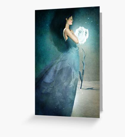 Ice Princess Greeting Card