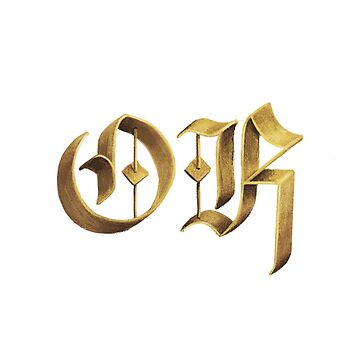 Blackletter is OK by Thir
