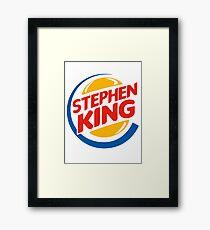 Stephen King i love it Framed Print